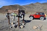 Lạ lùng ngã ba ấm trà ở thung lũng chết tại Mỹ