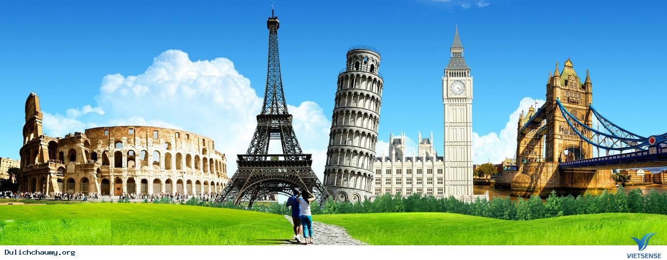 Chuyến du lịch châu Âu linh hoạt tiết kiệm