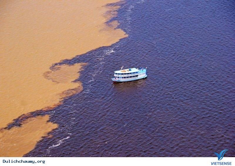 Khám Phá Dòng Sông Có 2 Màu Nước Ở Brazil,kham pha dong song co 2 mau nuoc o brazil