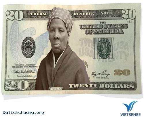 Phụ nữ da màu đầu tiên in trên tờ USD,phu nu da mau dau tien in tren to usd