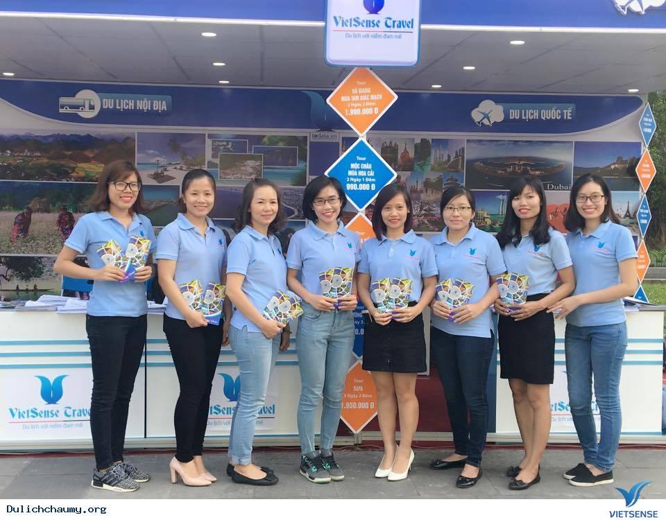 Vietsense Travel tưng bừng ngày hội khuyến mãi du lịch Hà Nội 2016,vietsense travel tung bung ngay hoi khuyen mai du lich ha noi 2016